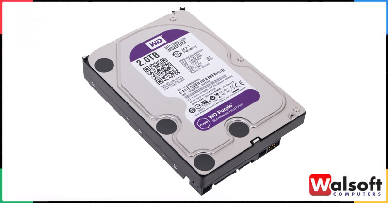 Wd Purple 2tb Surveillance Hard Disk Drive Intellipower Sata 6gb S