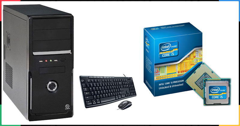 INTEL SANDY CORE i5 DESKTOP COMPUTER